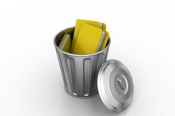 Files in trash bin