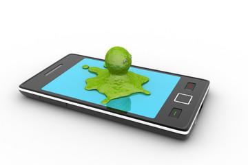 Octopus in smart phone
