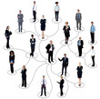 Social networking between business people