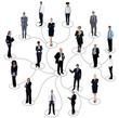 Social networking between business people