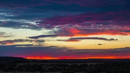 Burns Oregon Sunset Desert 674