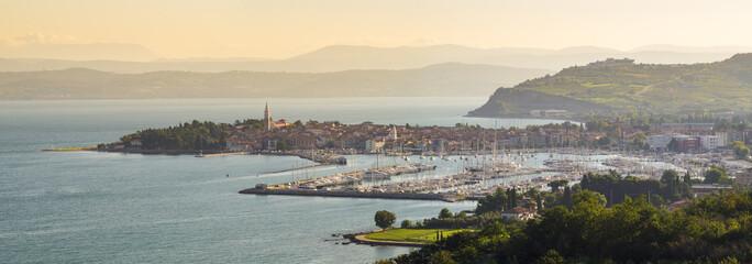 Panorama Isoli,kurort wypoczynkowy nad Adriatykiem