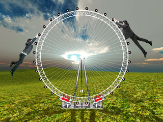 the wheel of the life