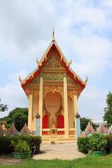 Temple at wat Ratbumrungwanaram, Nong Kae, Saraburi