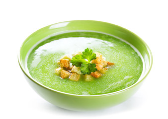 bowl of pea soup