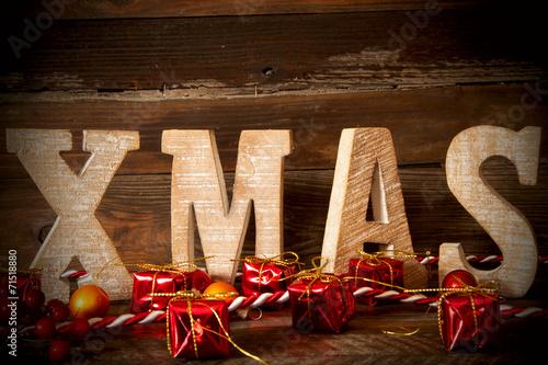 canvas print picture Weihnachtliche Dekoration