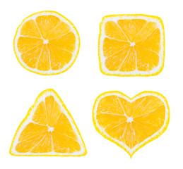 Shapes of lemon fruit