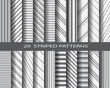 20 striped pattern set - 71519832