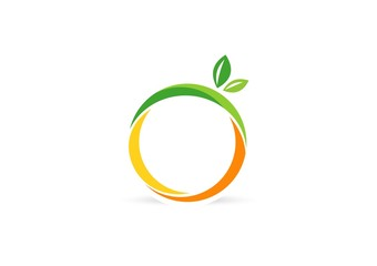 fruit,logo,lemon,nutrition,apple,orange,health,wellness,spa