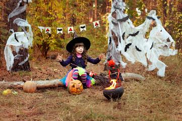 witchcraft on Halloween