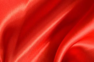 Texture red satin, silk background
