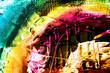 Farben Malerei abstrakt Struktur bunt