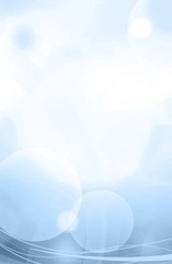 modern blue vertical abstract background