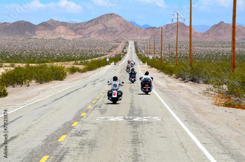 Poster balade moto