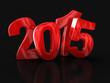 Zdjęcia na płótnie, fototapety, obrazy : New Year 2015 (clipping path included)