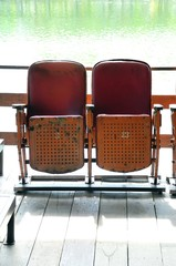 Seat outdoor theater
