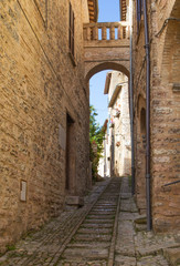 Historic town of  Spello (Umbria, Italy)