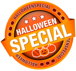 "Siegel Banner ""Halloweenspecial"" orange"