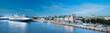 Leinwandbild Motiv Oslo Fjord harbor