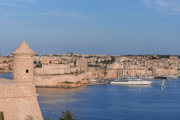 Valletta Skyline with tower