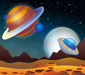 Image with space theme 2