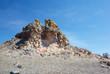 canvas print picture - Plush Rocks near Baikal lake