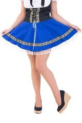 Oktoberfest girl spreading her skirt