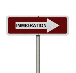 The way to Immigration