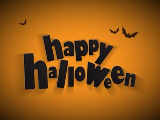 HALLOWEEN (pumpkin bats witch scary trick treat)