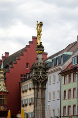 Statue of St. George in Freiburg