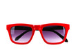 canvas print picture - sunglasses isolated on white