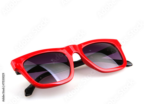 sunglasses isolated on white - 71530029