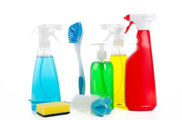 bunte reinigungsmittel