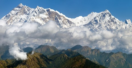 view of Annapurna Himal from Jaljala pass