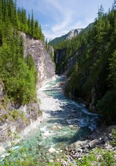 sumak river - sayan mountains - buryatia russia