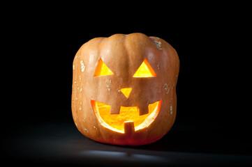 faccia di halloween