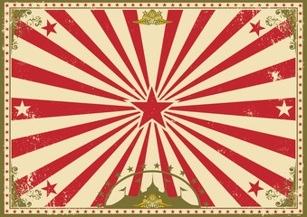 circus vintage horizontal background