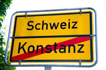 Grenze Schweiz