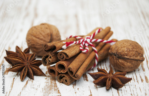 canvas print picture Spices