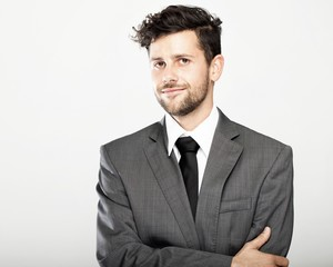 stylish young business man