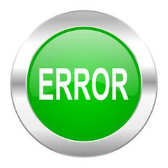 error green circle chrome web icon isolated