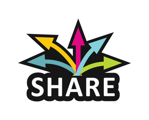 Share, Communication concept