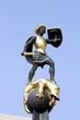 Speyer Statue - St. Georg Brunnen