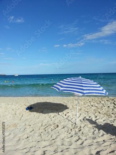 canvas print picture Urlaubsglück auf Mallorca