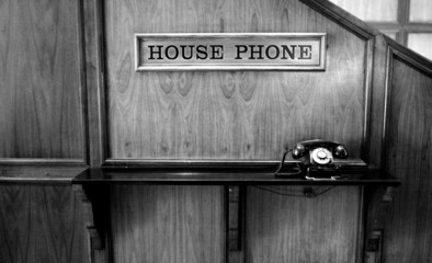 Black Rotary Phone Telephone Antique Old Fashioned