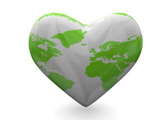Love The Heart - 3D