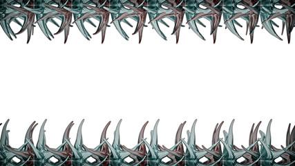 Abstrakte Objekte - Hintergrund