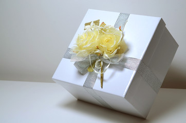 pacco regalo bianco