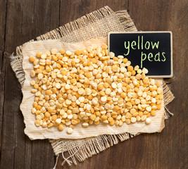 Yellow peas