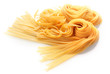 Fresh Italian Pasta Isolated on White - 71540227